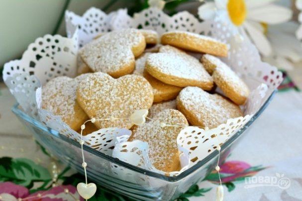 Печенье рецепт с пошагово с маргарином