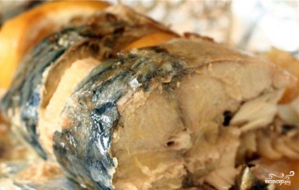 Рыба в пароварке в фольге