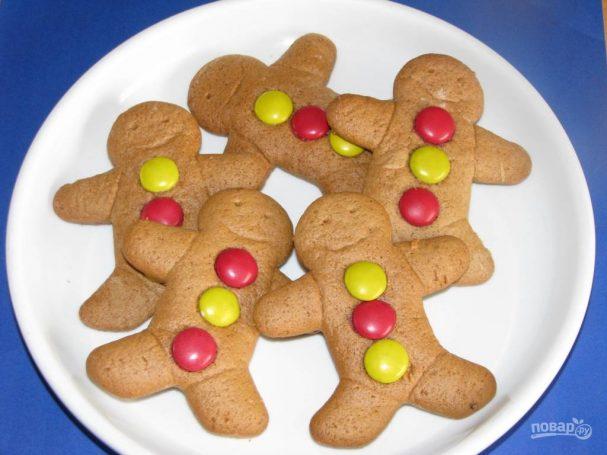 Детское печенье с формочками