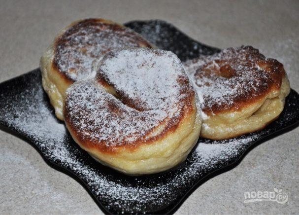 Пончики рецепт пошаговый с без молока