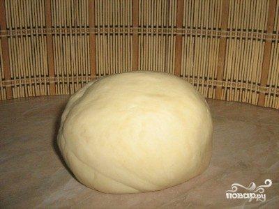 Тесто на ряженке для пиццы
