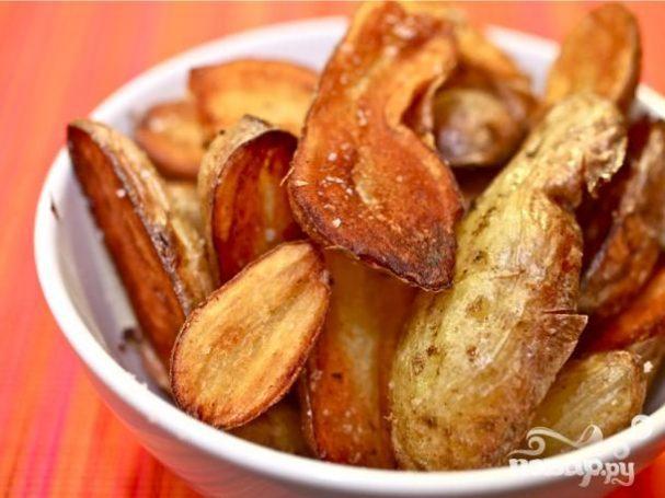 """Жареный картофель """"Фингерлинг"""""""