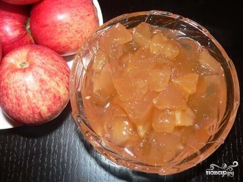 Варенье из яблок в микроволновке