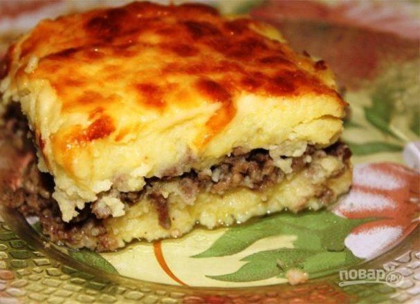 Картофельная запеканка с фаршем - вкусный рецепт с 52