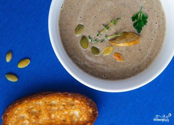 грибной суп из замороженных шампиньонов рецепт с фото