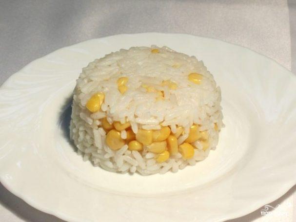 Рис с кукурузой