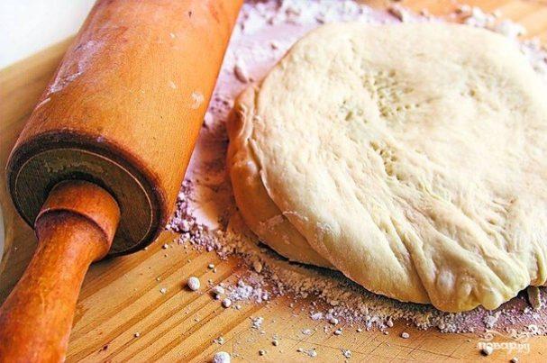 Творожное тесто для пиццы