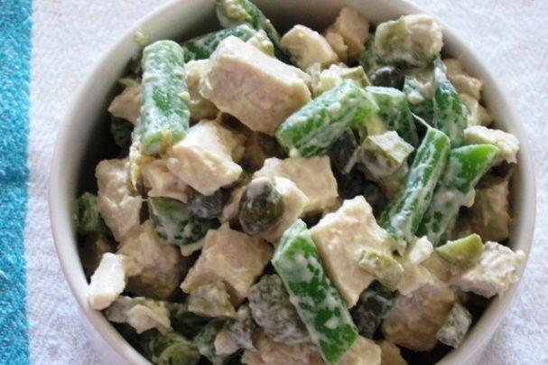 Французский куриный салат