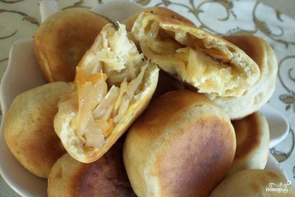 Пирожки из готового бездрожжевого теста