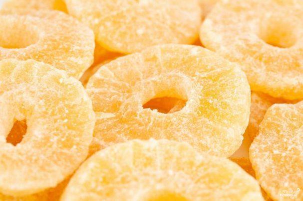 Цукаты из ананаса