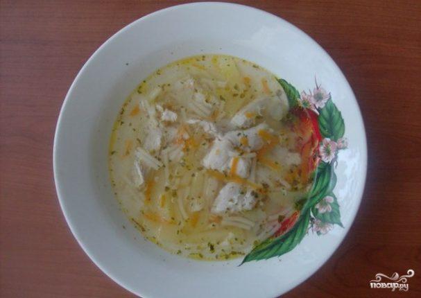 Куриный суп из грудки