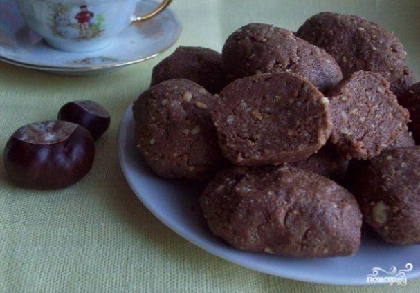 как сделать пирожное картошка в домашних условиях из печенья