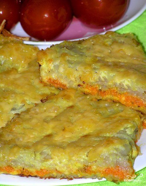 Картофельная запеканка без яиц