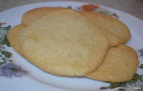 Печенье из майонеза