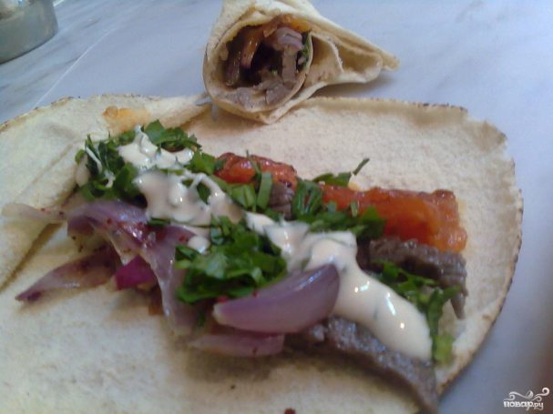 Арабский сэндвич