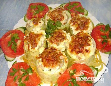 Фаршированные овощи или овощное ассорти