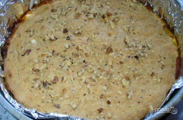 Пирог на кефире с начинкой