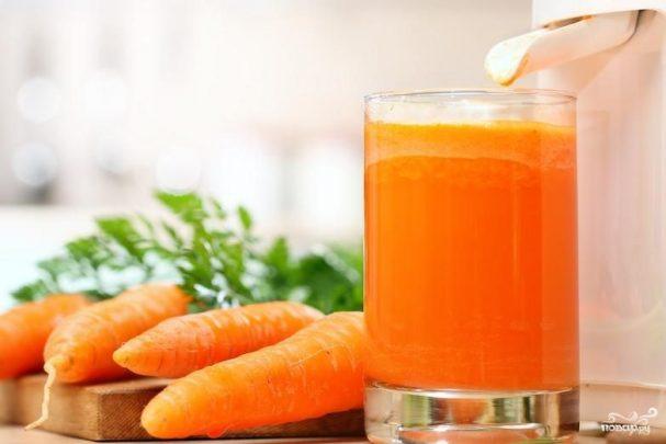Морковный сок со свекольным