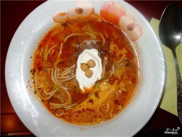Афганский томатный суп