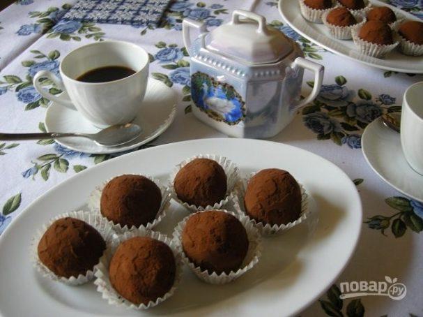 Творожно-кокосово-шоколадный десерт