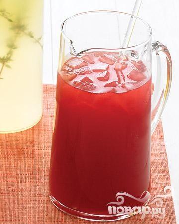 Холодный чай с гибискусом и медом