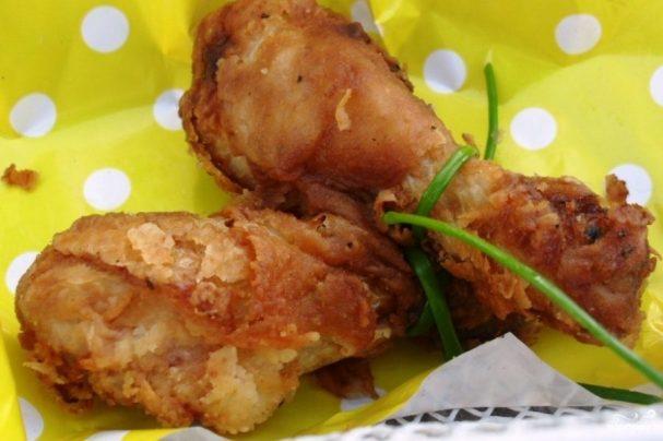 Жареная курица в горчице