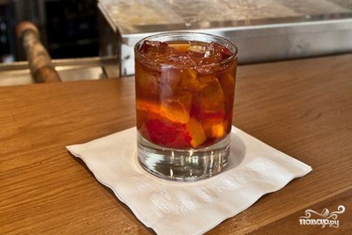 Классический старомодный коктейль