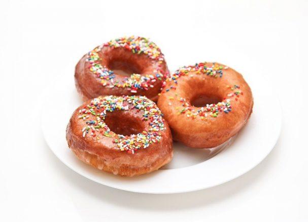 Быстрый рецепт пончиков