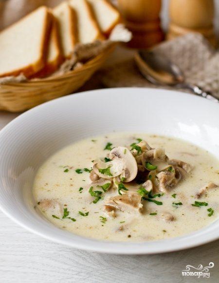 Итальянский суп с курицей