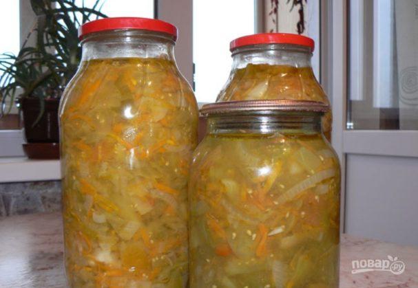Салат на зиму из помидоров