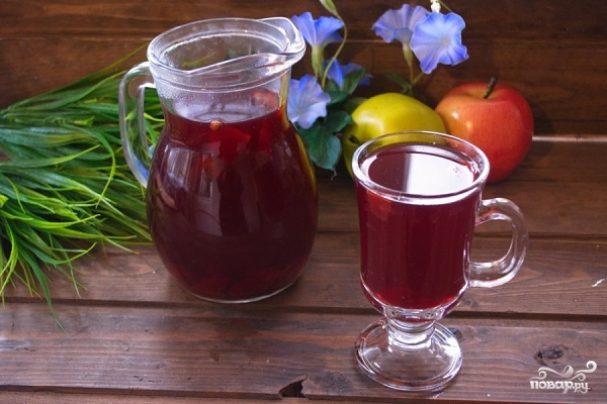 компот из свежих фруктов рецепт