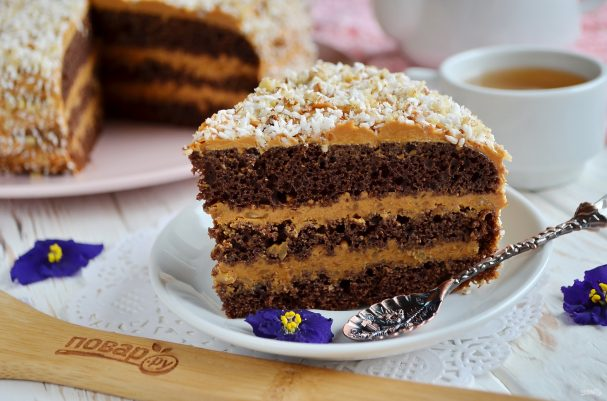 ореховый торт рецепт пошаговый с фото