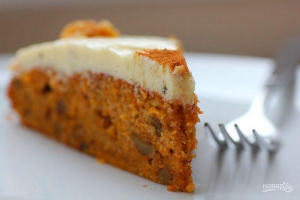 "Морковный торт ""Старбакс"""