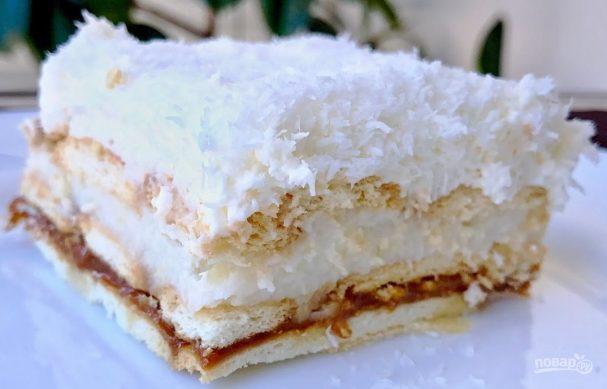 "Торт ""Рафаэлло"" без выпечки"