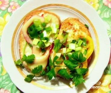 Бутерброды с болгарским перцем - пошаговый рецепт с фото на
