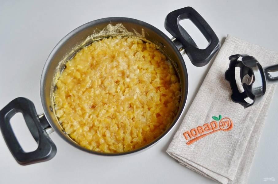 Гороховые блины с луком - пошаговый рецепт