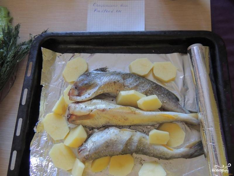 Рецепт рыбы навага в духовке