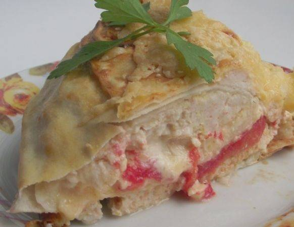 Лаваш с фаршем и сыром - пошаговый рецепт с фото на