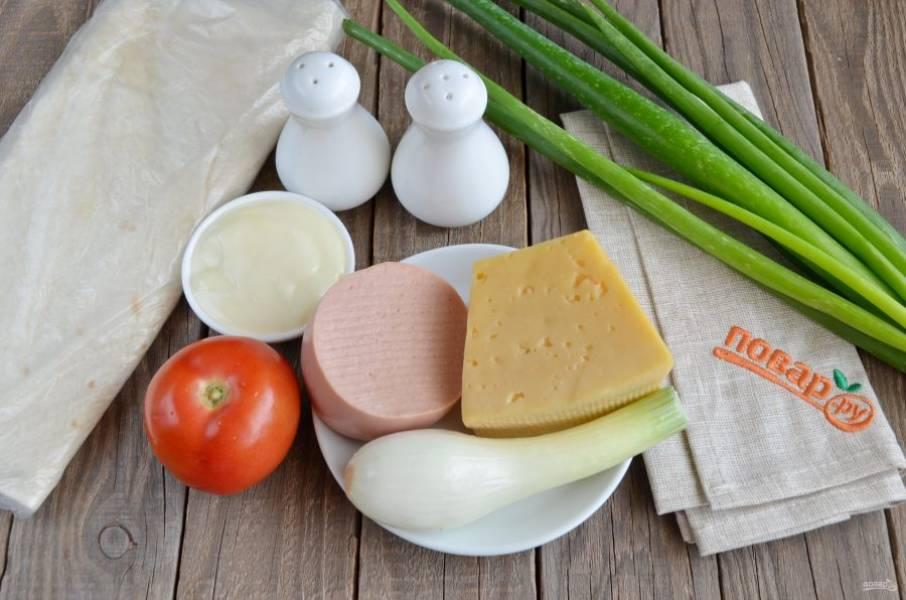 Подготовьте продукты, противень большой и приступим!