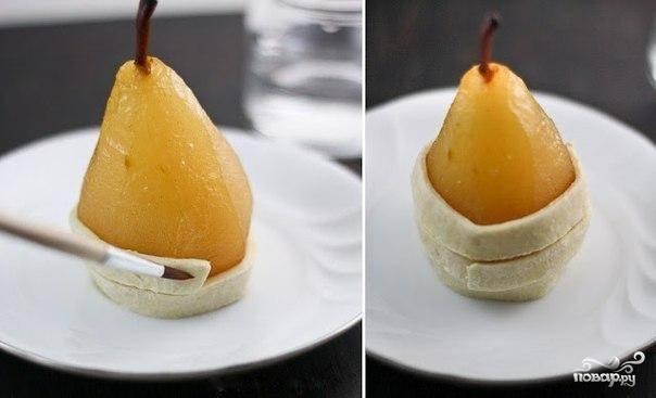 Медовые груши в слоеном тесте - пошаговый рецепт