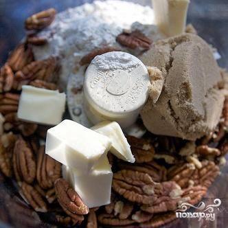 Ежевичный пирог с орехами - пошаговый рецепт с фото на
