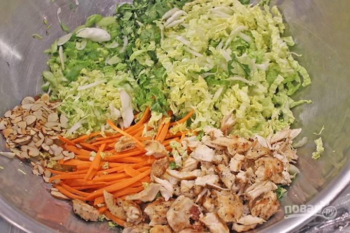 рецепты салатов китайская капуста