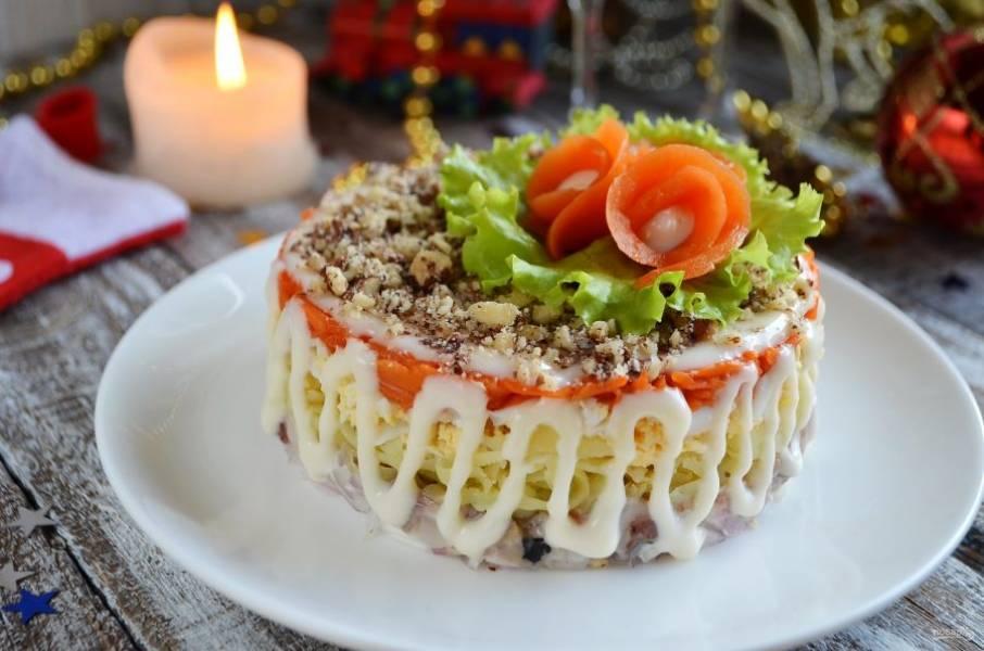 10 незабываемых салатов, которые понравятся мужчине
