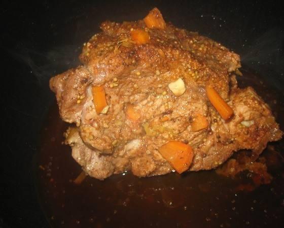 Мясо в мультиварке - Редмонд - пошаговый рецепт