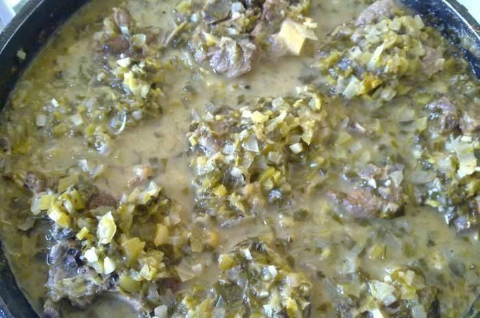 Чакапули грузинские из баранины - пошаговый рецепт с фото на