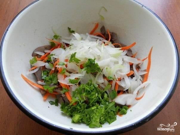 Салат с маринованным луком - пошаговый рецепт с фото на