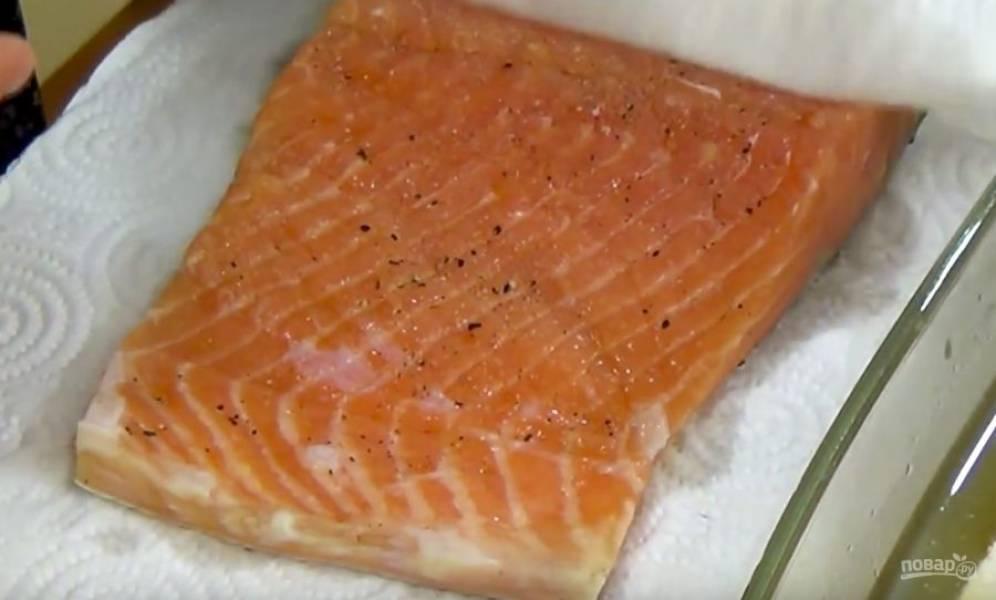 Засол красной рыбы в холодильнике - пошаговый рецепт