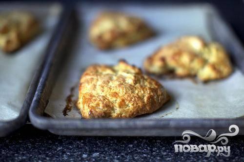 Булочки с яблоками и сыром Чеддер - пошаговый рецепт с фото на