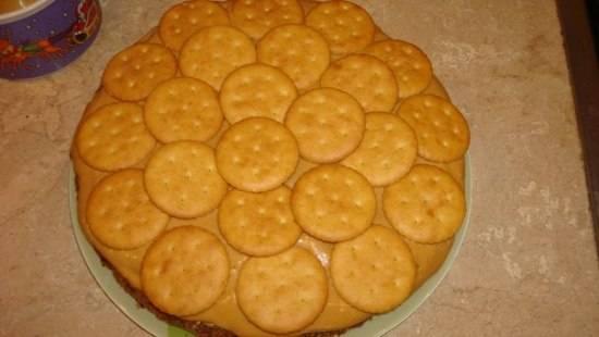 Торт - Лилия - пошаговый рецепт