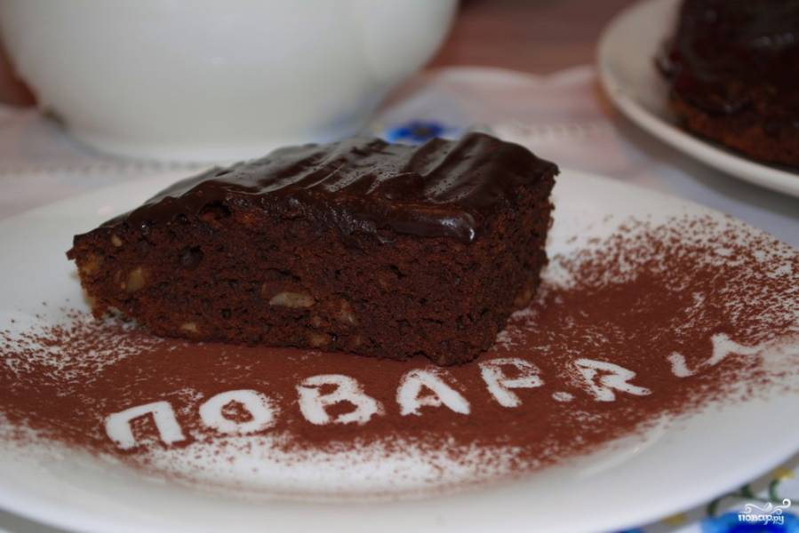Брауни (классический рецепт)
